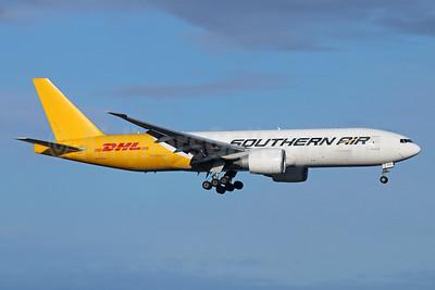 Southern Air (2nd)-DHL Boeing 777-FZB N777SA (msn 37989) ANC (Michael B. Ing). Image: 925079.