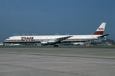 DHL Worldwide Express (DHL Airways) McDonnell Douglas DC-8-73 (F) N806DH (msn 46002) LHR (SPA). Image: 941623.