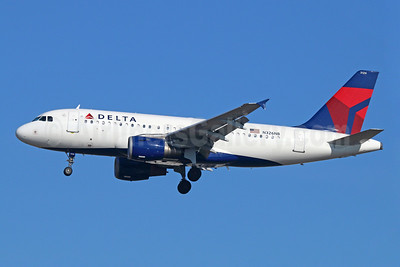 Delta Air Lines Airbus A319-114 N326NB (msn 1498) LAX (Michael B. Ing). Image: 923503.