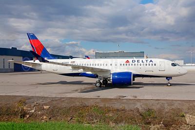 Delta Air Lines Airbus A220-100 (CS100 BD-500-1A10) N113DQ (msn 50032) YMX (Gilbert Hechema). Image: 946572.