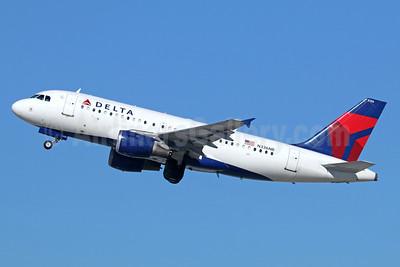 Delta Air Lines Airbus A319-114 N336NB (msn 1683) LAX (Michael B. Ing). Image: 937957.