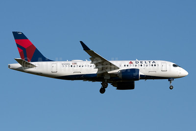 Delta Air Lines Airbus A220-100 (CS100 BD-500-1A10) N120DU (msn 50039) JFK (Fred Freketic). Image: 947758.