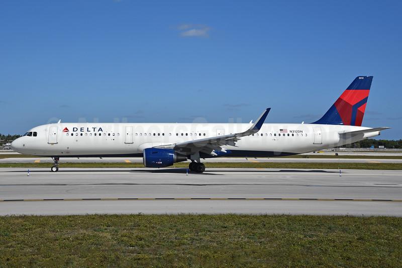 Delta Air Lines Airbus A321-211 WL N312DN (msn 7364) FLL (Bruce Drum). Image: 104457.