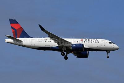 Delta Air Lines Airbus A220-100 (CS100 BD-500-1A10) N104DU (msn 50023) JFK (Robbie Shaw). Image: 948354.