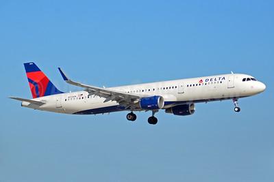 Delta Air Lines Airbus A321-211 WL N312DN (msn 7364) FLL (Bruce Drum). Image: 104456.