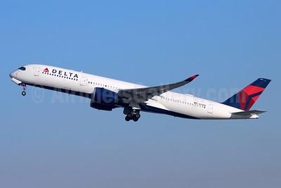 Delta Air Lines Airbus A350-941 N511DN (msn 210) LAX (Michael B. Ing). Image: 954363.