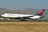 Delta Air Lines Boeing 767-332 ER WL N1201P (msn 28458) SCL (Ken Petersen). Image: 937955.