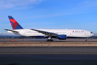 Delta Air Lines Boeing 777-232 ER N861DA (msn 29952) SEA (Michael B. Ing). Image: 937029.
