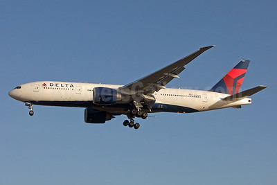 Delta Air Lines Boeing 777-232 LR N709DN (msn 40559)  LAX (Jay Selman). Image: 403685.