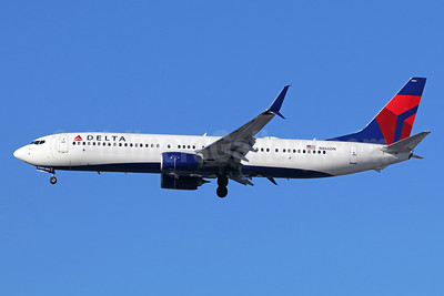 Delta Air Lines Boeing 737-932 ER SSWL N866DN (msn 31977) LAX (Michael B. Ing). Image: 937948.