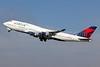 Delta Air Lines Boeing 747-451 N674US (msn 30269) LAX (Michael B. Ing). Image: 907046.