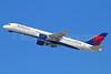 Delta Air Lines Boeing 757-232 N6705Y (msn 30397) LAX (Michael B. Ing). Image: 930521.