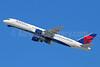 Delta Air Lines Boeing 757-232 N698DL (msn 29911) LAX (Michael B. Ing). Image: 930522.