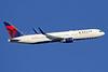 Delta Air Lines Boeing 767-332 ER WL N1604R (msn 30180) LHR (SPA). Image: 935867.