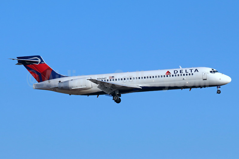 Delta Air Lines Boeing 717-2BD N969AT (msn 55030) LAX (Michael B. Ing). Image: 938487.
