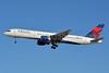 Delta Air Lines Boeing 757-232 N635DL (msn 23762) LAS (Jay Selman). Image: 402675.