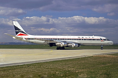 Delta Air Lines Douglas DC-8-33 N8170A (msn 45270) ORY (Jacques Guillem Collection). Image: 913936.