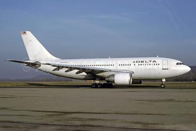 Delta Air Lines Airbus A310-222 N807PA (msn 346) ZRH (Rolf Wallner). Image: 921101.