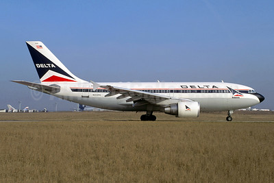 Delta Air Lines Airbus A310-324 N819PA (msn 456) ORY (Jacques Guillem). Image: 950225.