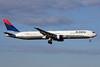 Delta Air Lines Boeing 767-432 ER N845MH (msn 29719) MAD (Ariel Shocron). Image: 936684.