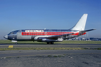 Delta Air Lines Boeing 737-247 N4511W (msn 19608) (Western colors) LAX (Christian Volpati Collection). Image: 941605.
