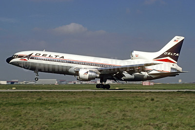 Delta Air Lines Lockheed L-1011-385-3 TriStar 500 N754DL (msn 1181) ORY (Jacques Guillem Collection). Image: 928700.