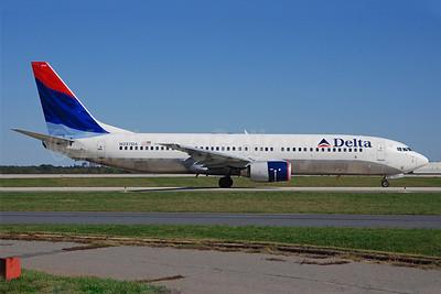 Delta Air Lines Boeing 737-832 N397DA (msn 30537) CLT (Bruce Drum). Image: 100082.