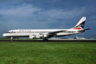 Delta Air Lines McDonnell Douglas DC-8-51 N818E (msn 45808) MIA (Al Rodriguez - Fernandez Imaging Collection). Image: 937614.