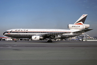 Delta Air Lines McDonnell Douglas DC-10-10 N912WA (msn 46645)  LAX (Christian Volpati Collection). Image: 941336.