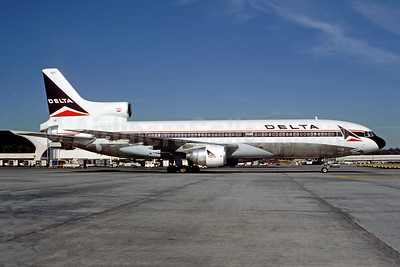 Delta Air Lines Lockheed L-1011-385-1 TriStar 1 N727DA (msn 1167) ATL (Christian Volpati Collection). Image: 953441.