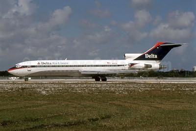Delta Air Lines Boeing 727-225 N8873Z (msn 21291) FLL (SPA). Image: 951147.