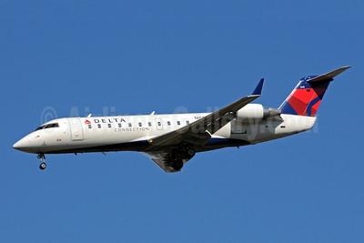 Delta Connection-ASA (Atlantic Southeast Airlines) Bombardier CRJ200 (CL-600-2B19) N848AS (msn 7339) ATL (Bruce Drum). Image: 101237.