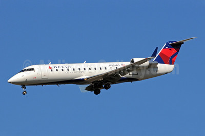 Delta Connection-ASA (Atlantic Southeast Airlines) Bombardier CRJ200 (CL-600-2B19) N851AS (msn 7360) ATL (Bruce Drum). Image: 101238.