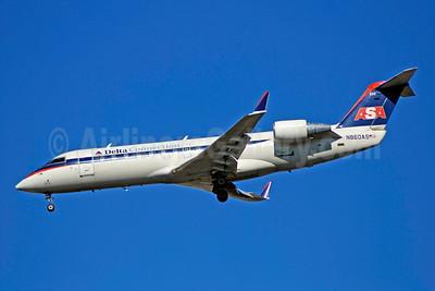 Delta Connection-ASA (Atlantic Southeast Airlines) Bombardier CRJ200 (CL-600-2B19) N860AS (msn 7433) ATL (Bruce Drum). Image: 100760.