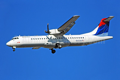 Delta Connection-ASA (Atlantic Southeast Airlines) ATR 72-212 N643AS (msn 413) ATL (Bruce Drum). Image: 100754.