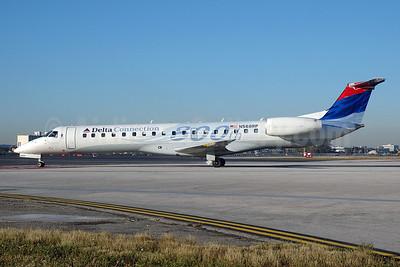 Special emblem for the 800th Embraer regional jet