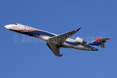 Delta Connection-Comair Bombardier CRJ700 CRJ700 (CL-600-2C10) N625CA (msn 10113) (150th CRJ700) ATL (Jay Selman). Image: 402079.