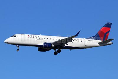 Delta Connection-Compass Airlines Embraer ERJ 170-200LR (ERJ 175) N616CZ (msn 17000209) LAX (Michael B. Ing). Image: 926247.