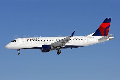 Delta Connection-Compass Airlines Embraer ERJ 170-200LR (ERJ 175) N608CZ (msn 17000195) BWI (Brian McDonough). Image: 904401.