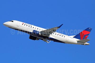 Delta Connection-Compass Airlines Embraer ERJ 170-200LR (ERJ 175) N608CZ (msn 17000195) LAX (Michael B. Ing). Image: 930220.