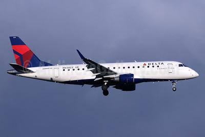 Delta Connection-Compass Airlines Embraer ERJ 170-200LR (ERJ 175) N634CZ (msn 17000246) SEA (Michael B. Ing). Image: 946544.