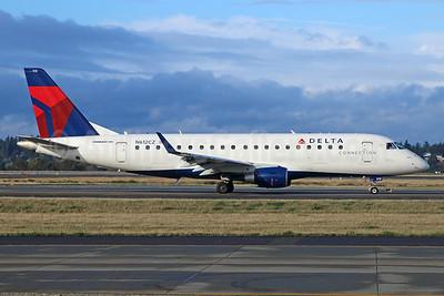 Delta Connection-Compass Airlines Embraer ERJ 170-200LR (ERJ 175) N612CZ (msn 17000201) SEA (Michael B. Ing). Image: 927096.