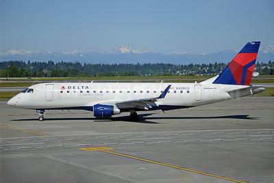 Delta Connection-Compass Airlines Embraer ERJ 170-200LR (ERJ 175) N608CZ (msn 17000195) SEA (Bruce Drum). Image: 103424.