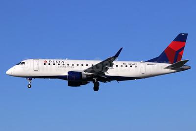 Delta Connection-Compass Airlines Embraer ERJ 170-200LR (ERJ 175) N616CZ (msn 17000209) LGB (Michael B. Ing). Image: 946543.