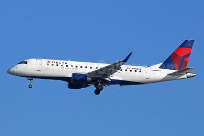 Delta Connection-Compass Airlines Embraer ERJ 170-200LR (ERJ 175) N607CZ (msn 17000192) LAX (Michael B. Ing). Image: 926244.