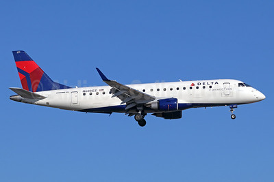 Delta Connection-Compass Airlines Embraer ERJ 170-200LR (ERJ 175) N603CZ (msn 17000176) SNA (Michael B. Ing). Image: 942065.