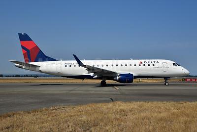 Delta Connection-Compass Airlines Embraer ERJ 170-200LR (ERJ 175) N605CZ (msn 17000186) SEA (Bruce Drum). Image: 104720.