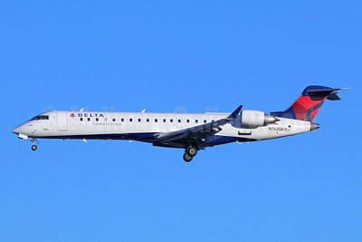 Delta Connection-SkyWest Airlines Bombardier CRJ700 (CL-600-2C10) N763SK (msn 10228) SEA (Michael B. Ing). Image: 943072.