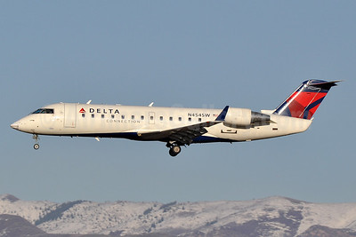 Delta Connection-SkyWest Airlines Bombardier CRJ200 (CL-600-2B19) N454SW (msn 7749) SLC (Tony Storck). Image: 933365.