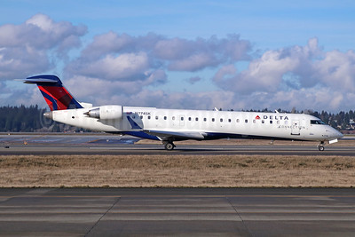Delta Connection-SkyWest Airlines Bombardier CRJ700 (CL-600-2C10) N774SK (msn 10240) SEA (Michael B. Ing). Image: 943076.